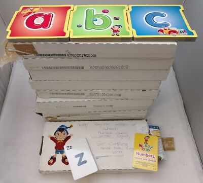 - Noddy 'ABC' Books 2004/5 By Reader's Digest - NEW IN BOX *FULL SET OF LETTERS*