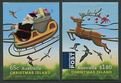 Christmas 2016 - Mint Ex-Booklet & Embellished Sheet Self-Adhesives (Go203)