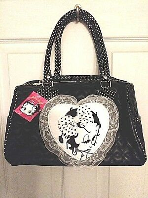 New With Tags Betty Boop Purse Handbag