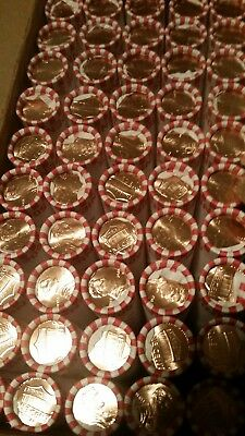 10 ROLLS 1st ISSUE 2018 D BU LINCOLN SHIELD PENNIES - FAST SHIPPING