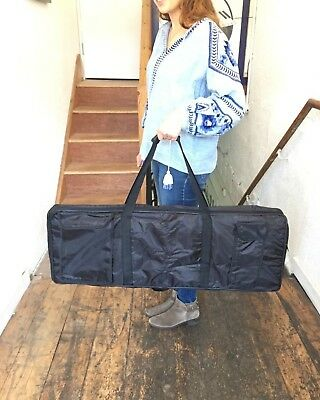 Black Keyboard Gig Bag / Stage Piano For Casio Yamaha Soft Carrying Case 24.99