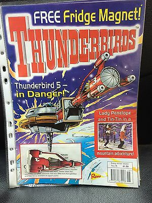 Thunderbirds Redan Comic Issues 18 with free TB3 fridge magnet Gerry Anderson