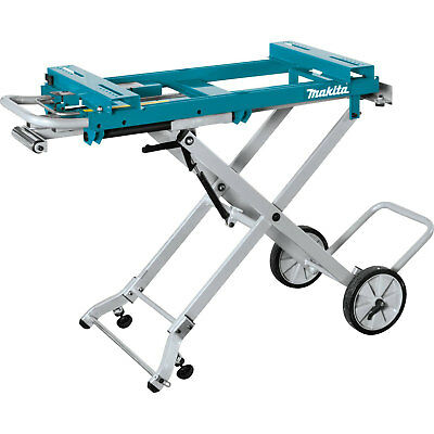 Makita WST05 220 Pound Capacity Portable Folding Rise Miter Aluminum Saw Stand