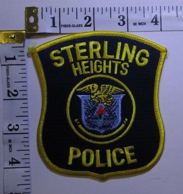 Sterling Heights Michigan Police Department Shoulder Patch