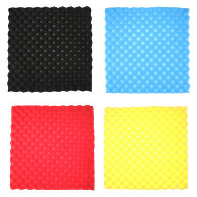 50x50cmSoundproofing Foam Studio Acoustic Sound Treatment Absorption Wedge TileD