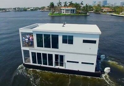 THE LUXURIA One of a Kind Luxury Living Vessel - Floating Home Houseboat