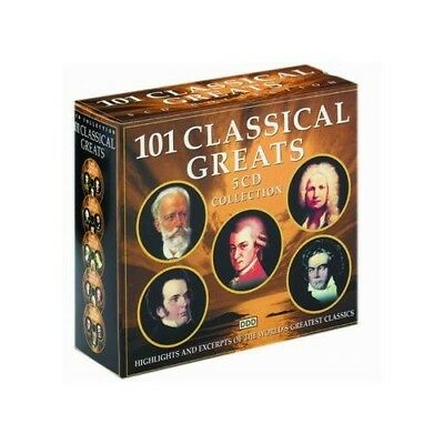 Various Composers - 101 Classical Greats - Various Composers CD THLN The Fast