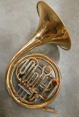 Elkhorn by Getzen Double Compensating French Horn !NORESERVE! !