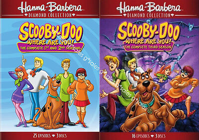 Scooby-Doo Where Are You! Complete TV Series Season 1-3 1 2 3 BRAND NEW DVD SET