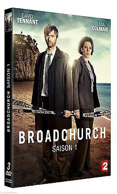 """DVD """" Broadchurch: the COMPLETE FIRST Season 1 """" New Blister Pack"""