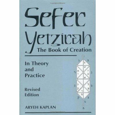 Sefer Yetzira/The Book of Creation: In Theory and Pract - Paperback NEW Kaplan,