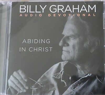 Billy Graham - Abiding In Christ - CD - NEW Free Shipping!! (BluShdLocation)