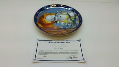 "Danbury Mint ""breakfast Sure Looks Fresh"" Garfield Collector Plate 2 (St5014966)"