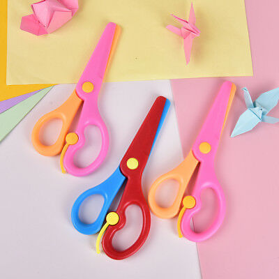 Scissors Tools Scissor Student Kid Fold Stationery Paper Cut Office Diy School Home Art Child Preschool Photo Safe Blunt Tip Protect Portable