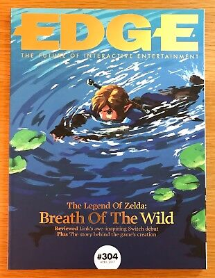 Edge Magazine Issue 304 Unread Legend Zelda Breath Of The Wild Subscriber Cover