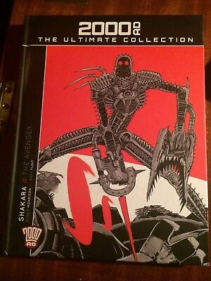 2000AD The Ultimate Collection Vol 57 - Shakara The Avenger - Used but unread.