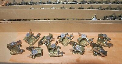 Lot 10 Vintage Cuckoo Clock Music Box Governor Fan Assembly Swiss Flywheel NOS