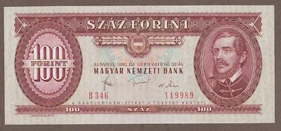 1980 Hungary 100 Forint Note Unc