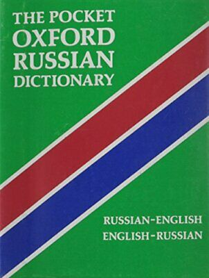 The Pocket Oxford Russian Dictionary Paperback Book The Cheap Fast Free Post