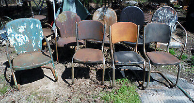Choose Pick One. Antique Vtg Lawn or Porch Chairs (Free pickup  Freight Options