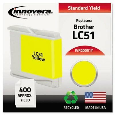 Innovera Ink Cartridge - Yellow - Inkjet - 400 Page - 1 / Pack (20051Y)