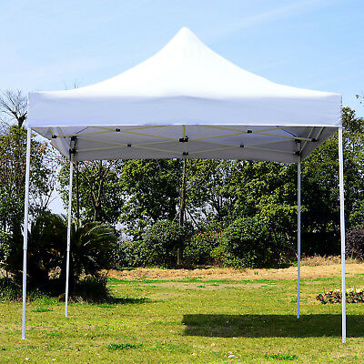Summer Clearance 9.7x9.7ft Pop Up Party Tent Instant Shelter Portable Sunshade