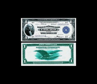 Fr. 729 $1 1918 Federal Reserve Bank Note~~  UNCIRCULATED