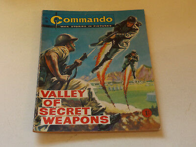 Commando War Comic Number 98!!,1963 Issue,v Good For Age,55 Years Old,v Rare.