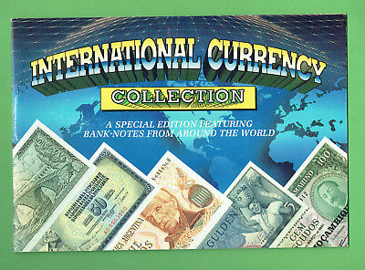 #T83.  International Banknote Currency Collection & Folder