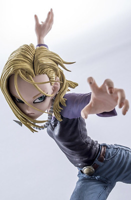 DragonBall Dragon Ball SCultures BIG Android 18 lazuli 17cm PVC Figure Toy Gift