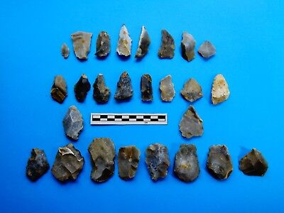 Large group of Flint tools from Dorset -Very recent finds -Look!