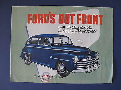 1947  Ford Full Line Sales Brochure C5919