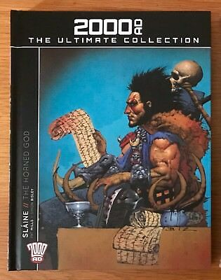 New Unread 2000Ad The Ultimate Collection Volume 1 Slaine The Horned God 2000 Ad