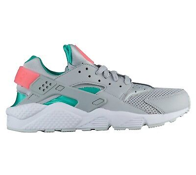 7f499bd49510b Nike Air Huarache South Beach Mens 318429-053 Grey Green Running Shoes Size  11