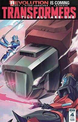 The Transformers: Till All Are One Comic 4 Subscription Cover  IDW 2016