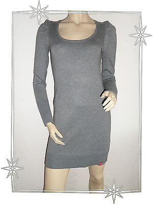 45be6baa2d A - ROBE En Maille Tricotée Grise EDC by Esprit Collection Taille S ...