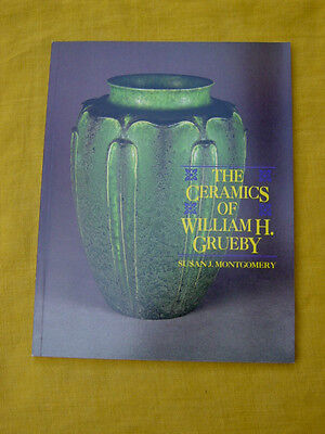 William H Grueby American Arts & Crafts Pottery Reference Book, Out Of Print,n/r