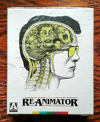 Re-Animator Blu-Ray Arrow NEW Sealed Limited 2 Disc Flat Spine Rare OOP
