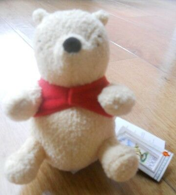 Official, CLASSIC WINNIE THE POOH with original tag, excellent gift idea