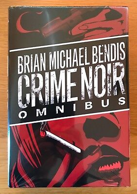 New Sealed Crime Noir Omnibus By Brian Michael Bendis Dc Marvel Rare Comic Book