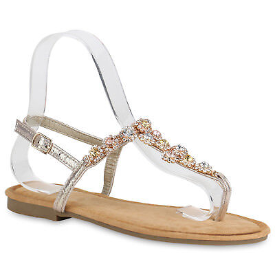 NEW DESIGN DAMEN SCHUHE 163392 SANDALEN ROSE GOLD 39