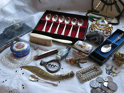 Joblot Of Antique ,vintage And Curio Items
