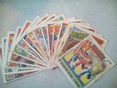 Eagle Comics (16 Issues From 1986) (Starring Dan Dare) Free P&P(Now Only £9.99)