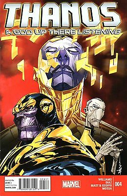 Thanos: A God Up There Listening Comic 4 of 4 Marvel 2014 Williams Diaz Mast