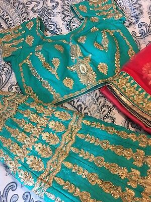 Brand New Bridal/wedding Bollywood Dress Lehenga Choli Size M(USA Size 8-10)