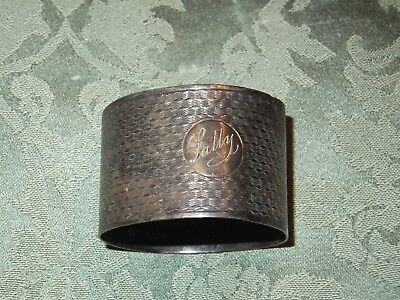 Solid Silver Napkin Ring ( 24g )