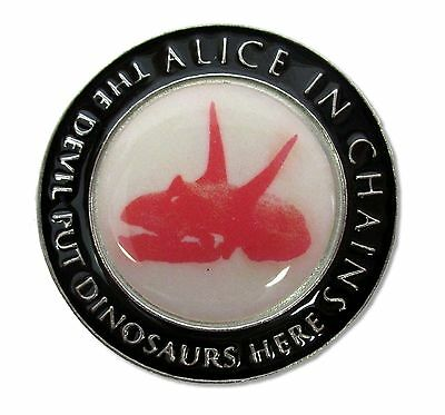 Alice In Chains Devil Put Dinosaurs Collectors Coin Souvenir New Official Aic