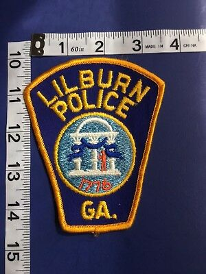 Lilburn Georgia  Police Shoulder Patch