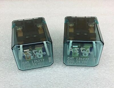 Asco 115277 Cube Relay 24Vdc (Set Of 2) New