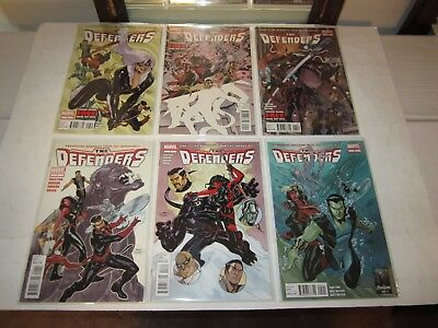 Defenders, 2011, #s 1 2 3 4 5 6 7 8 9 10 11 12 Complete, VF/NM, Marvel Comics
